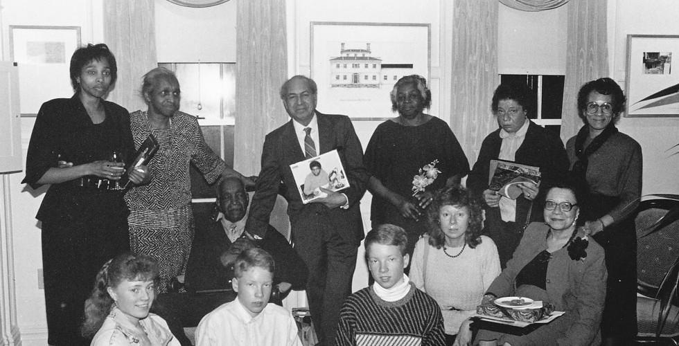 Turner Family Group at Vermont Folklife Center celebration for Journey's End's Peabody Award
