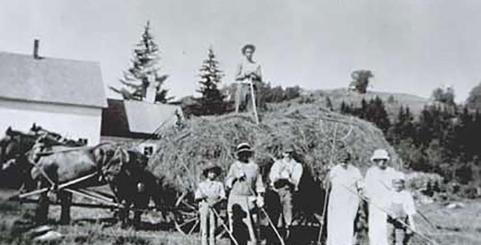 Haying on Turner Hill, c. 1925