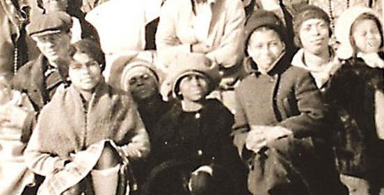 Turner Family on Turner Hill at Homestead c. 1932