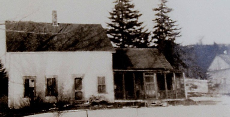 Turner house built in 1886, burned in 1962